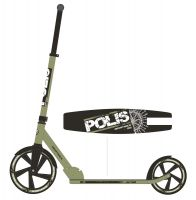 Самокат Novatrack Polis Khaki 250mm (2016)