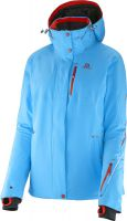������ Salomon Brilliant Jacket M Black Blue Line