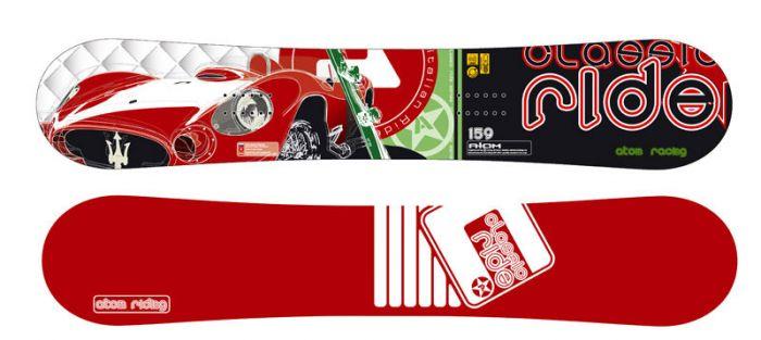 Сноуборды АТОМ  ITALIAN RIDE + Крепление АТОМ MATRIX+Ботинки АТОМ BASE