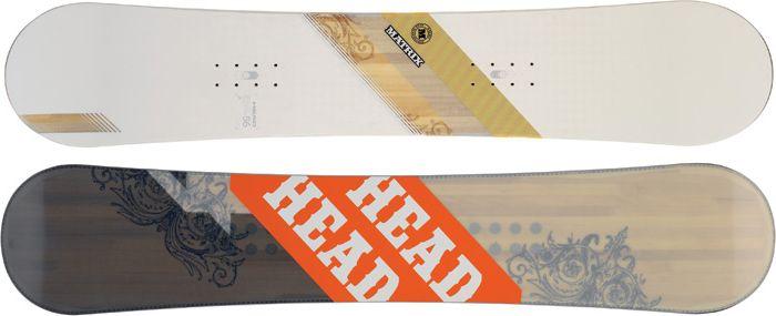 Сноуборд Head Matrix classic white