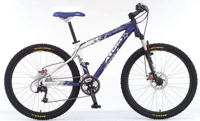 Велосипед ATOM  XC-400 Disc 17.5