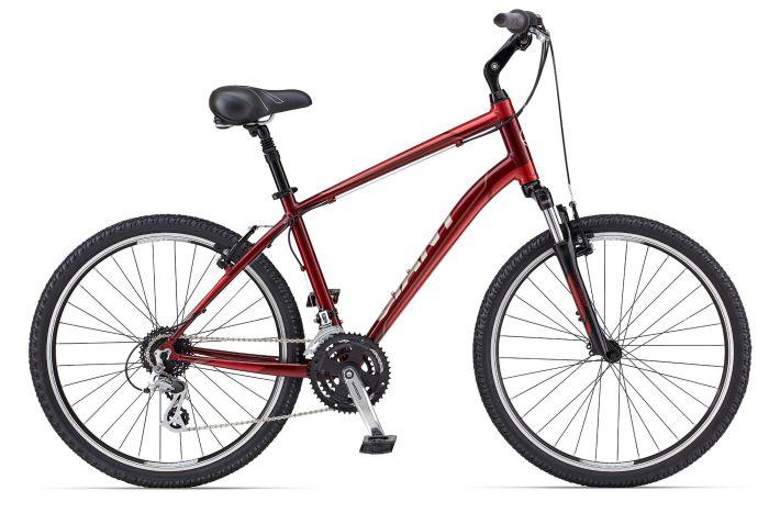 Цвет велосипеда: Красный велосипед Giant Sedona DX