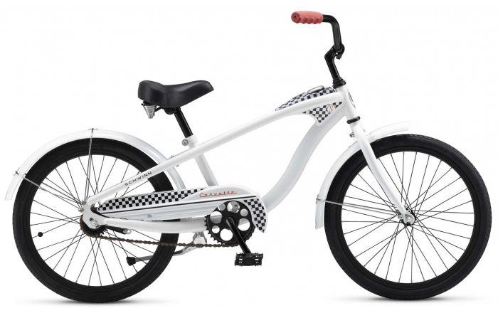 Цвет велосипеда: Белый велосипед Schwinn Mini Corvette