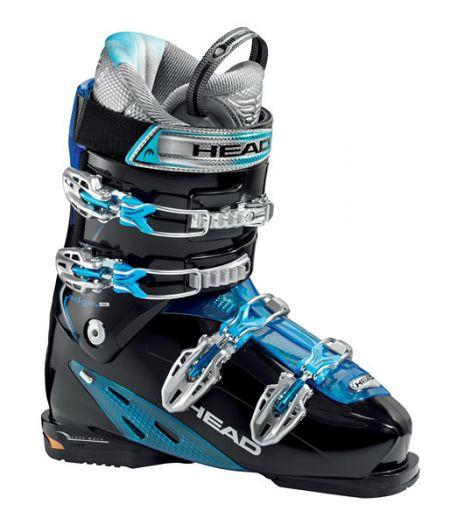 Горнолыжные ботинки Head Edge+ 9 black trans. blue