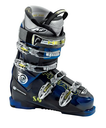 Горнолыжные ботинки Head S 9 black-trans azure