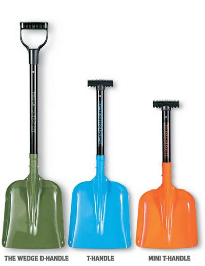 Лопата The Wedge D-Handle Shovel