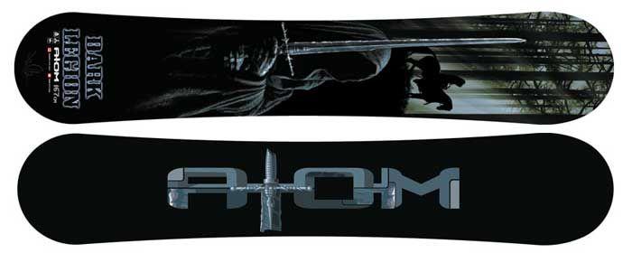 Народный комплект Сноуборд АТОМ Dark Legion + Крепление S.W.A.T. + Ботинки Matrix