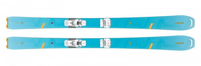 Горные лыжи Head Wild Joy + Крепление ATTACK 12 GW