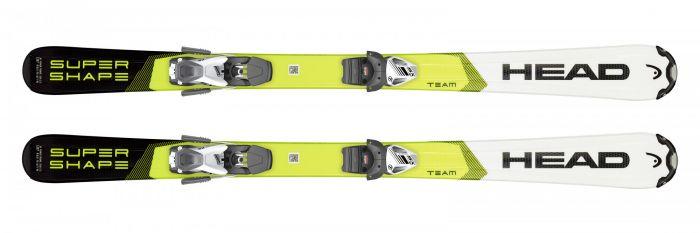 Горные лыжи Head Supershape Team + Крепление SX 7.5 GW AC
