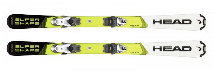 Горные лыжи Head Supershape Team + Крепление SX 4.5 GW AC (2020)