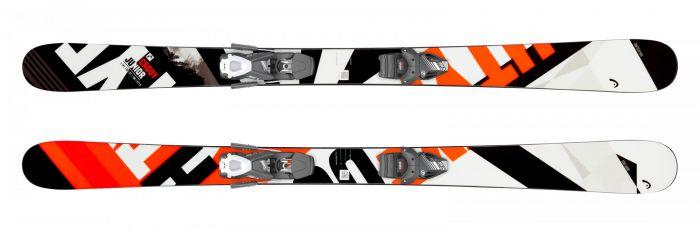 Горные лыжи Head Caddy Jr + Крепление SX 7.5 GW AC