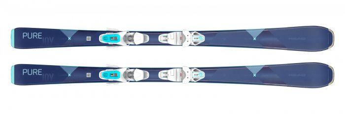 Горные лыжи Head Pure Joy + Крепление JOY 9 GW  (2020)
