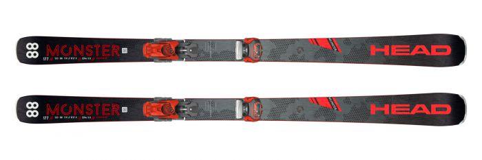 Горные лыжи Head Monster 88 Ti + Крепление ATTACK 13 GW (2020)