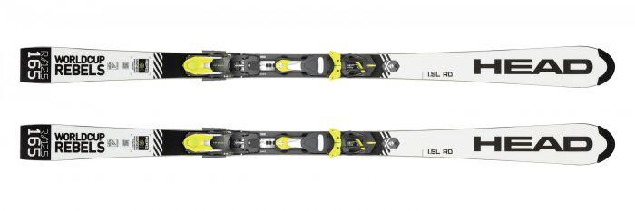 Горные лыжи Head WorldCup Rebels i.SL RD FIS + Крепление FF EVO 14 X  (2020)