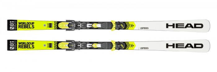 Горные лыжи Head WorldCup Rebels i.Speed + Крепление FF EVO 14 (2020)