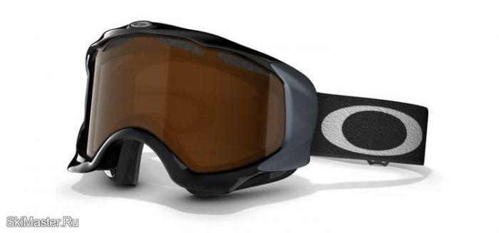 Маска Oakley Twisted Jet Black / Black Iridium (2012)