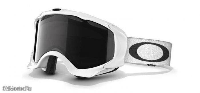 Маска Oakley Twisted Polished White Dark Grey / Persimmon (2012)