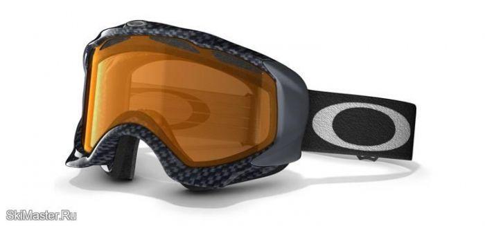 Маска Oakley Twisted True Carbon Fiber Persimmon (2012)