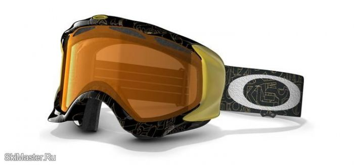 Маска Oakley Twisted Gold Factory Text / Persimmon (2012)
