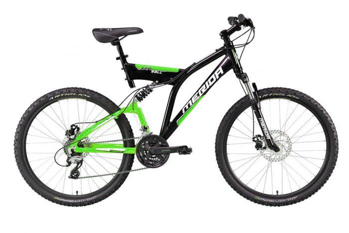 Цвет велосипеда: Зеленый велосипед Merida Fireball-D