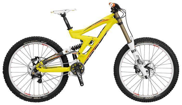 Цвет велосипеда: Желтый велосипед Scott Gambler 10