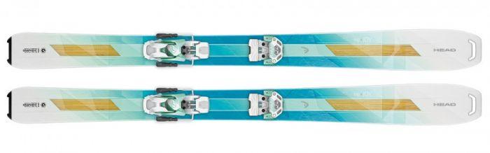 Горные лыжи Head Big Joy + ATTACK 12 (311666+114028)