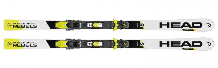 Горные лыжи Head  WC Rebels i.GS RD Team JRP RDX + EVO 9 AC Jr (124-152)  (16/17)