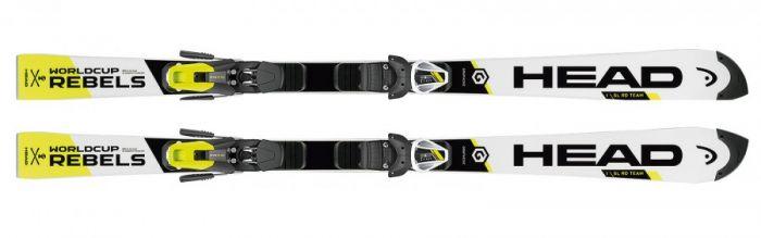 Горные лыжи Head  WC Rebels i.SL RD Team JRP RDX + EVO 9 AC Jr (120-138) (314026+100688)