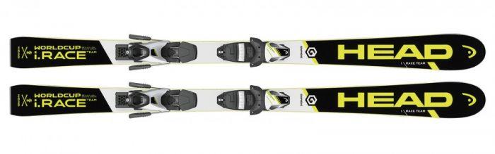 Горные лыжи Head  WC i.Race Team SLR2 + SLR 7.5 AC (130-160) (314146+100678)