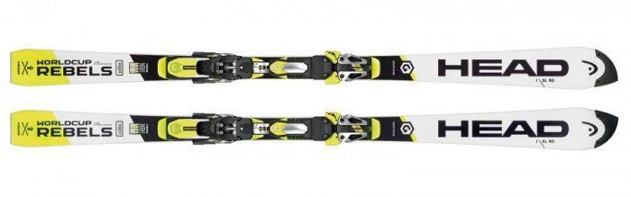 Горные лыжи Head WC Rebels i.SL RD (16/17) + FF EVO 18X