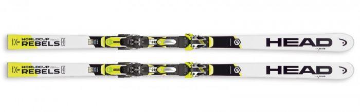 Горные лыжи Head WC Rebels i.GS RD SW Race Plate / Masters + FF EVO RD 16X