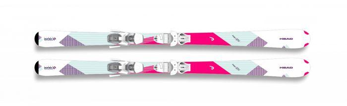 Горные лыжи Head Easy Joy SLR2 + Крепления SLR 9.0 AC 2018