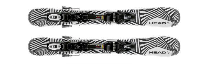 Горные лыжи Head RazzleDazzle + Крепления SP 10 ABS