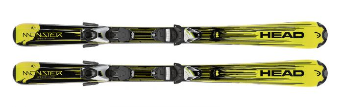 Горные лыжи Head Monster SLR2 + Крепления SLR 4.5 AC 2018