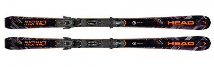 Горные лыжи Head Supreme INSTINCT Ti AB + PR 11