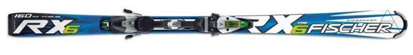 Горные лыжи Fischer  RX6 FTI