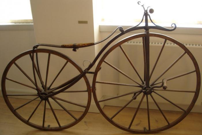 История развития велосипеда - велосипед Лалмана