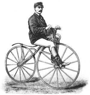 История развития велосипеда - велосипед Мишо