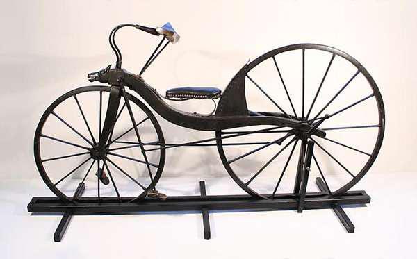 История развития велосипеда. Велосипед Макмиллана.