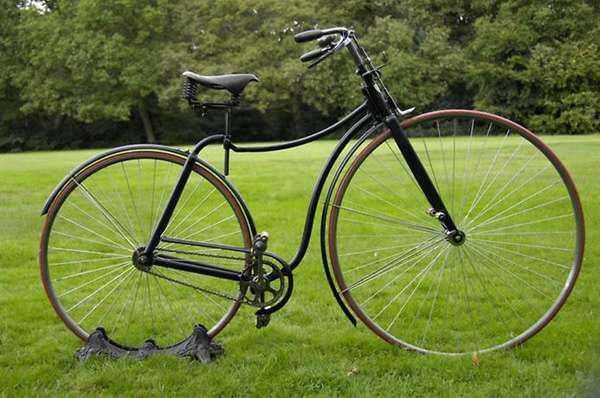 История развития велосипеда - велосипед Rover