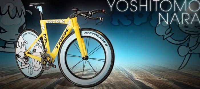 Самые дорогие велосипеды: Trek Yoshitomo Nara Speed Concept
