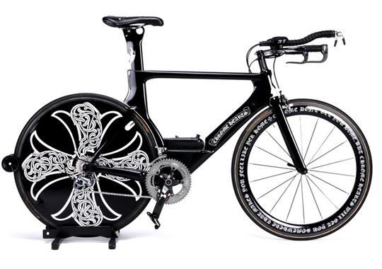 Самые дорогие велосипеды: Chrome Hearts x Cervelo Bike