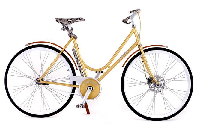 Самые дорогие велосипеды: Montante Luxury Gold Collection