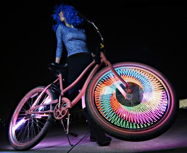 Тюнинг велосипеда: обзор аксессуаров - светодиоды