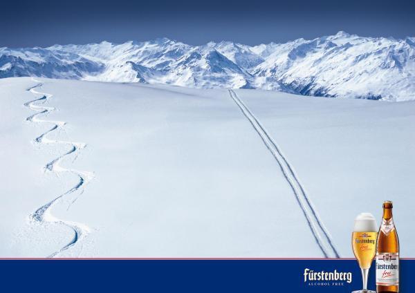 Лыжи и алкоголь