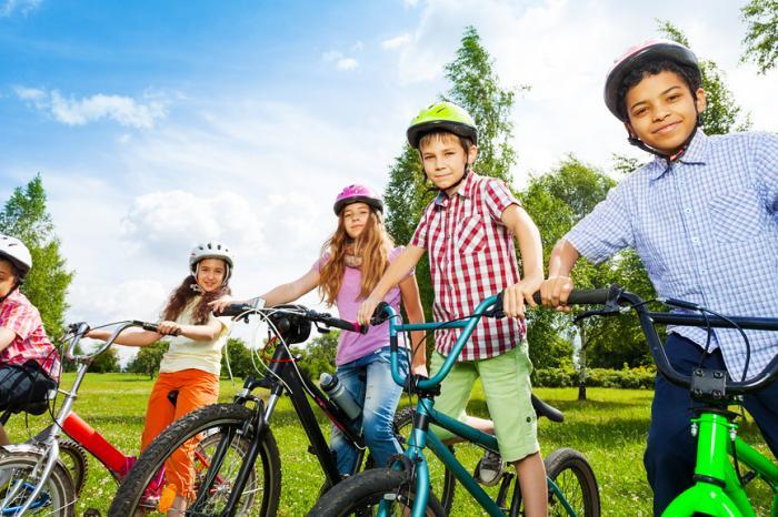 Выбираем детский велосипед по размеру колес